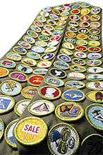 Merit Badge Sash graphic